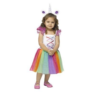Toddler Sparkly Unicorn Costume - Unicorn Costume - Kids Halloween ...