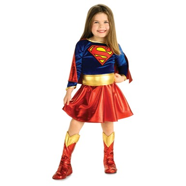 Toddler Supergirl Halloween Costume - Superman