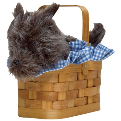 Toto in Basket - Dorothy Purse