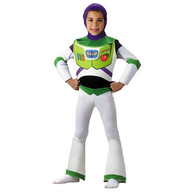 Toy Story Buzz Lightyear Costume - Kids Deluxe