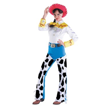 Toy Story Jessie Costume - Adult Deluxe Cowgirl