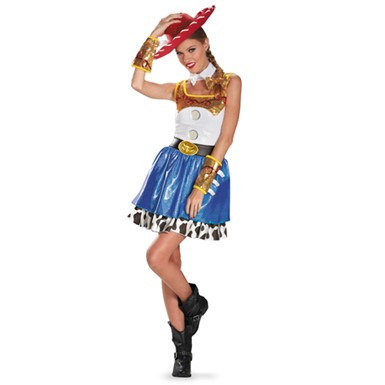 Toy Story Jessie Glam Costume - Womens