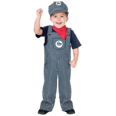 Train Engineer Costume - Toddler