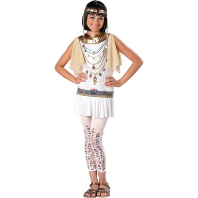 Tween Girls Cleopatra Egyptian Princess Costume