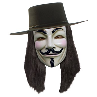 V for Vendetta Wig - Mens