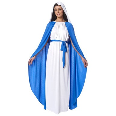 Virgin Mary Halloween Costume