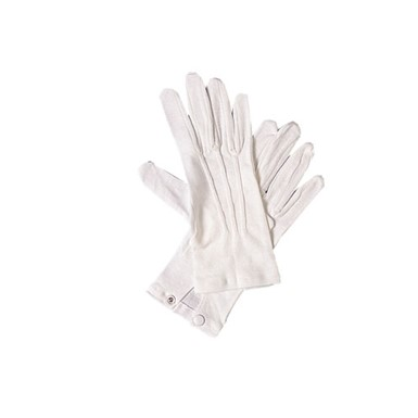 White Costume Gloves