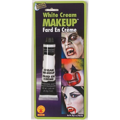 White Cream Makeup - Halloween Costumes and Accessories