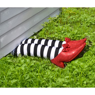 Wicked Witch Legs Halloween Prop Halloween Decoration