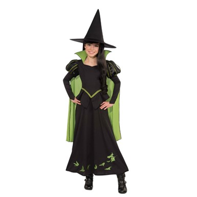 Wicked Witch Of The West Costume - Girls