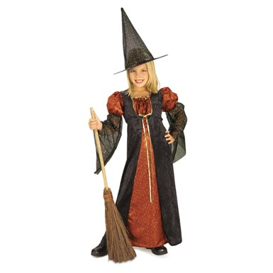 Witch Costume for Girls - Sparkle Witch