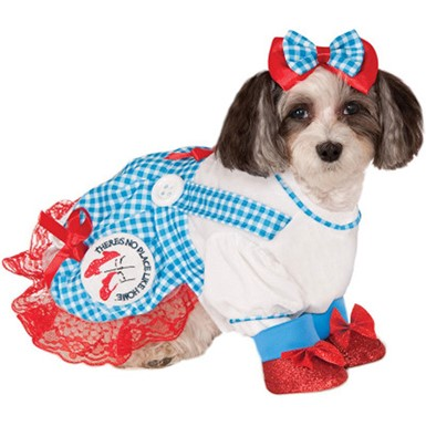 Wizard of Oz Dog Costume - Dorothy