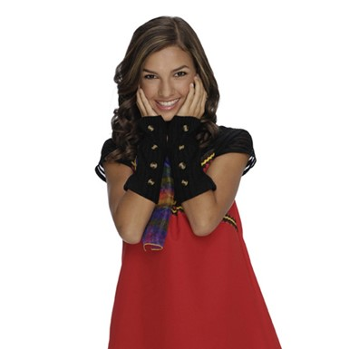 Wizards of Waverly Place Arm Warmers - Black