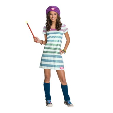 Wizards of Waverly Place Kids Costume - Alex Striped