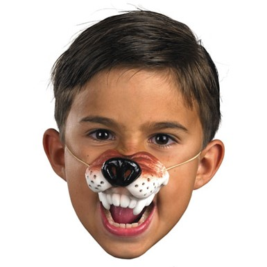 Wolf Nose Facial Piece for Halloween Costume