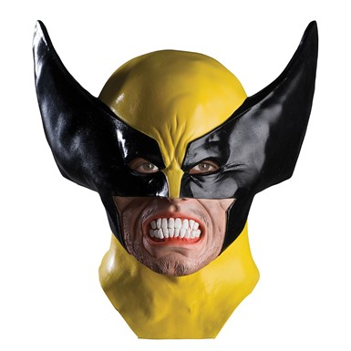 Wolverine Latex Mask - Adult