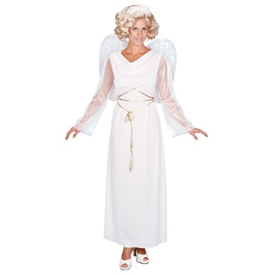 Woman's Angel Costume - White