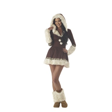 Women Eskimo Costume - Eskimo Kisses