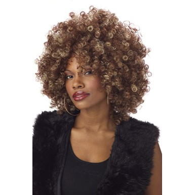 Womens Afro Wig - Fine Foxy Afro