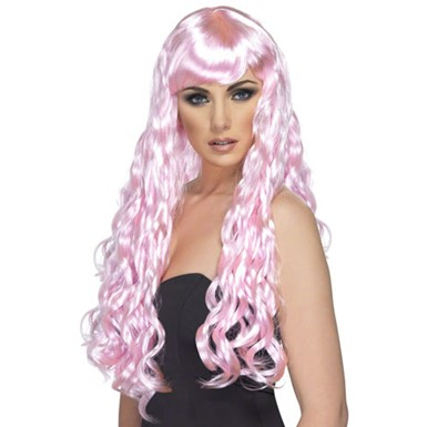 Womens Candy Pink Desire Wig