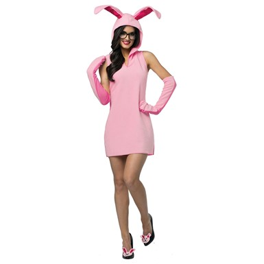 Womens Christmas Story Bunny Dress Costume Size 4-10