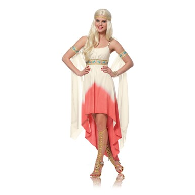 Womens Coral Goddess Costume