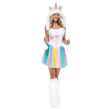 Womens Cute Unicorn Halloween Horse Costume