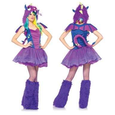 Womens Darling Dragon Costume