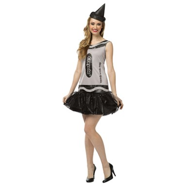 Womens Deep Space Sparkle Glitter Dress Costume - Crayola