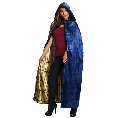 Womens Deluxe Wonder Woman Hooded Cape