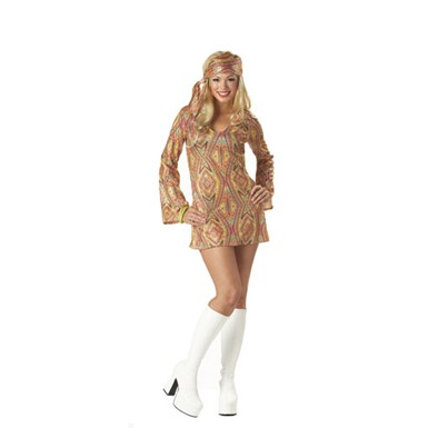 Women's Disco Costume - Disco Dolly