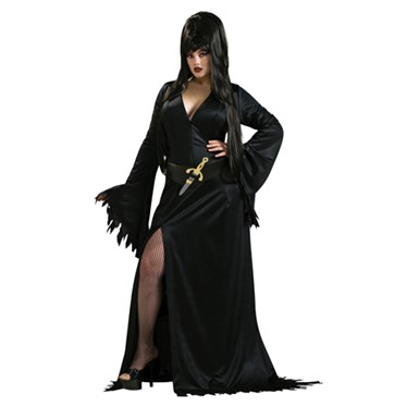 Women's Elvira Costume - Plus Size