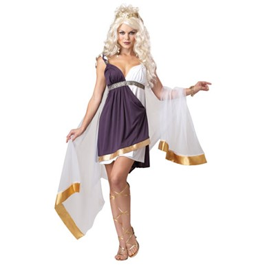 Womens Goddess of Love Costume