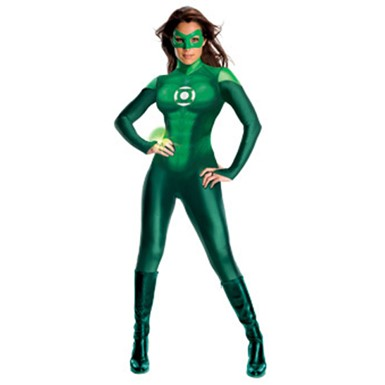 Womens Green Lantern Costume