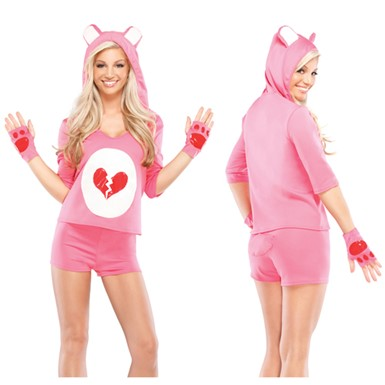 Womens Heartbreaker Teddy Costume