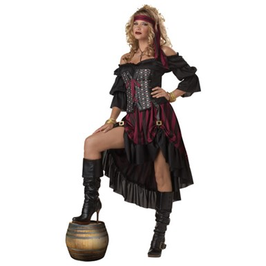Womens Hot Pirate Wench Costume