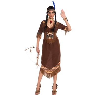 Womens Indian Little Deer Costume
