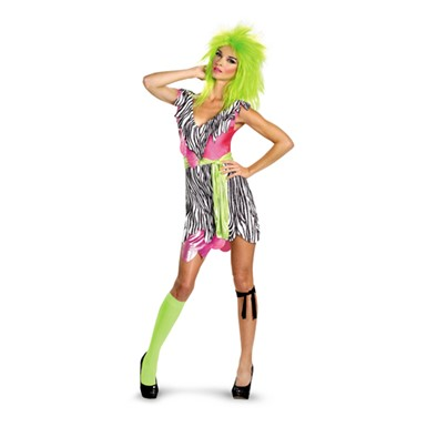 Womens Jem And The Holograms Pizzaz Costume