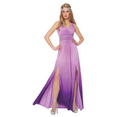 Womens Lilac Goddess Costume