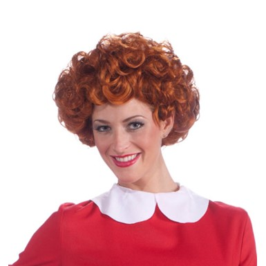 Womens Little Orphan Annie Wig