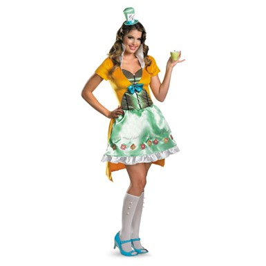Womens Mad Hatter Halloween Costume