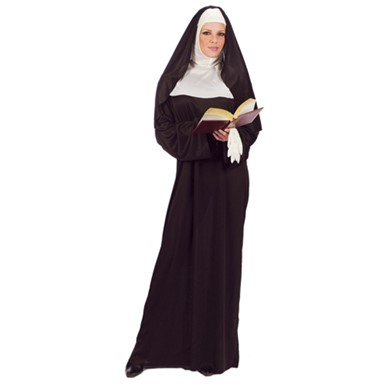 Womens Nun Costume - Mother Superior