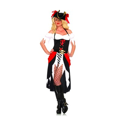 Womens Pirate Costume - Pirate Beauty
