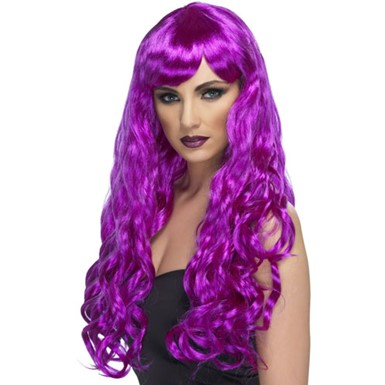 Womens Purple Desire Wig