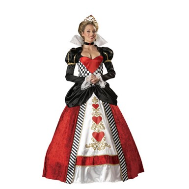 Womens Queen of Hearts Costume - Ultimate Collection