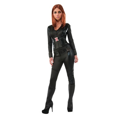Womens Secret Wishes Black Widow Costume