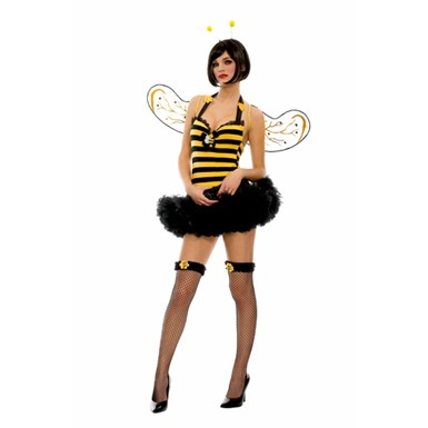 Womens Sexy Bumble Bee Costume