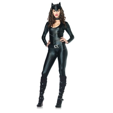 Womens Sexy Catwoman Halloween Costume