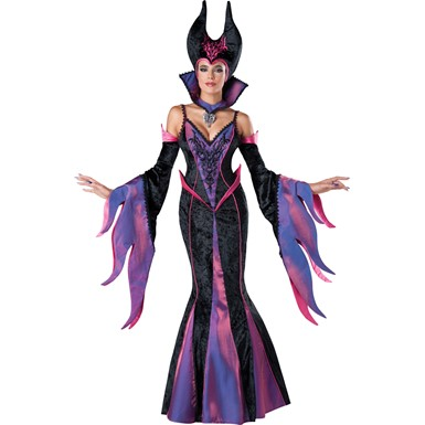 Womens Sexy Dark Sorceress Costume