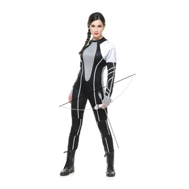 Womens Sexy Hunter Jumpsuit Halloween Costume